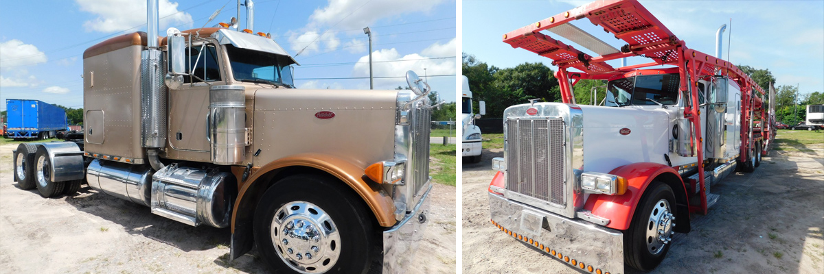 Peterbilt Heavy Duty Trucks At Tsi In Central Florida